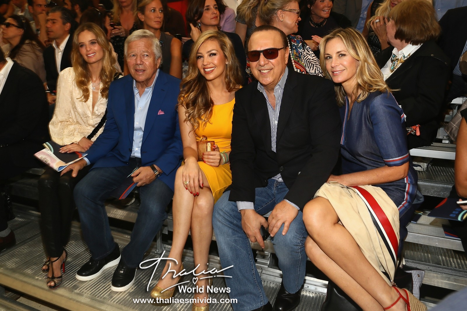 Tommy Hilfiger Women's - Front Row - Mercedes-Benz Fashion Week Spring 2014
