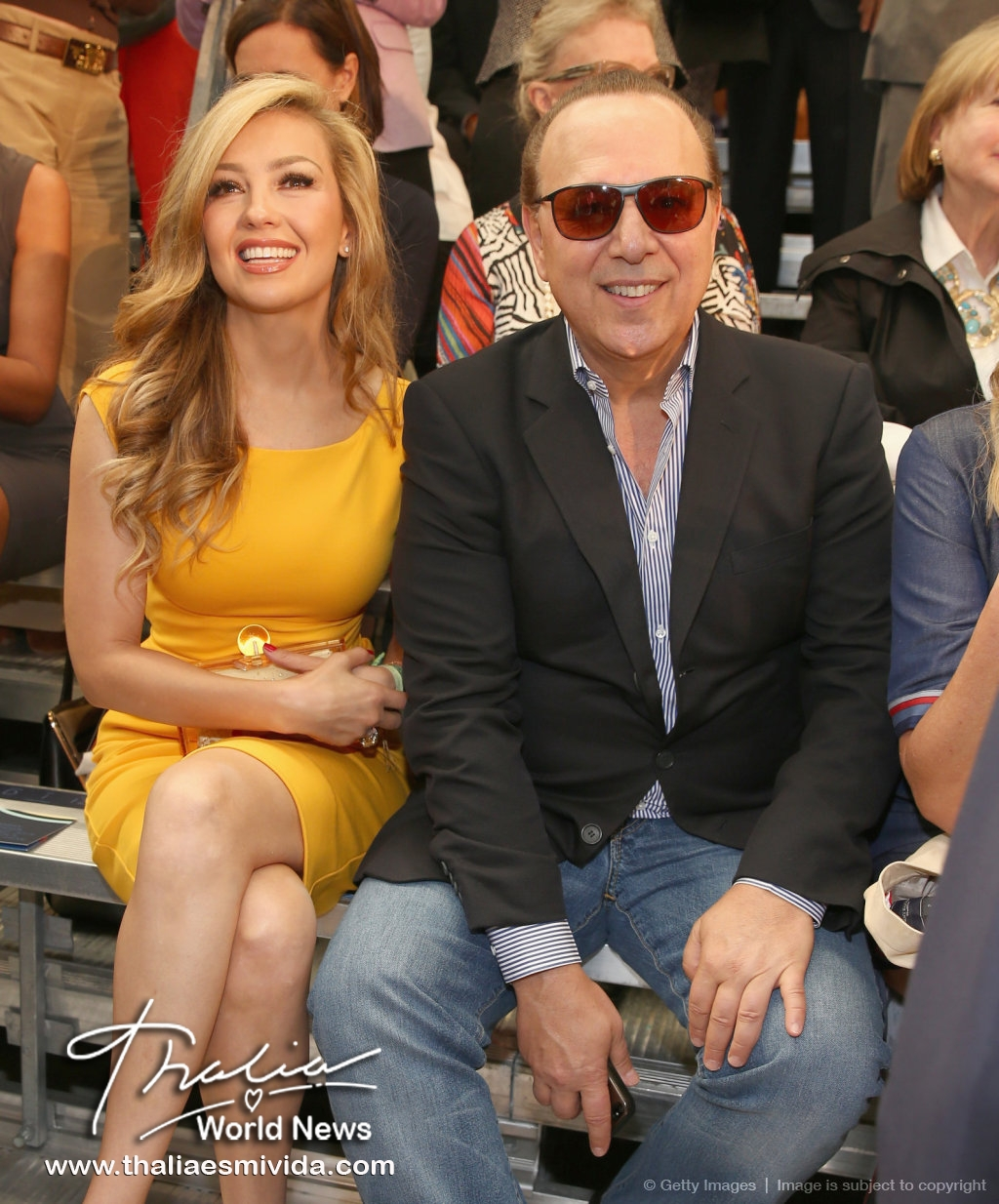 Thalia and Tommy  NYFW (1)
