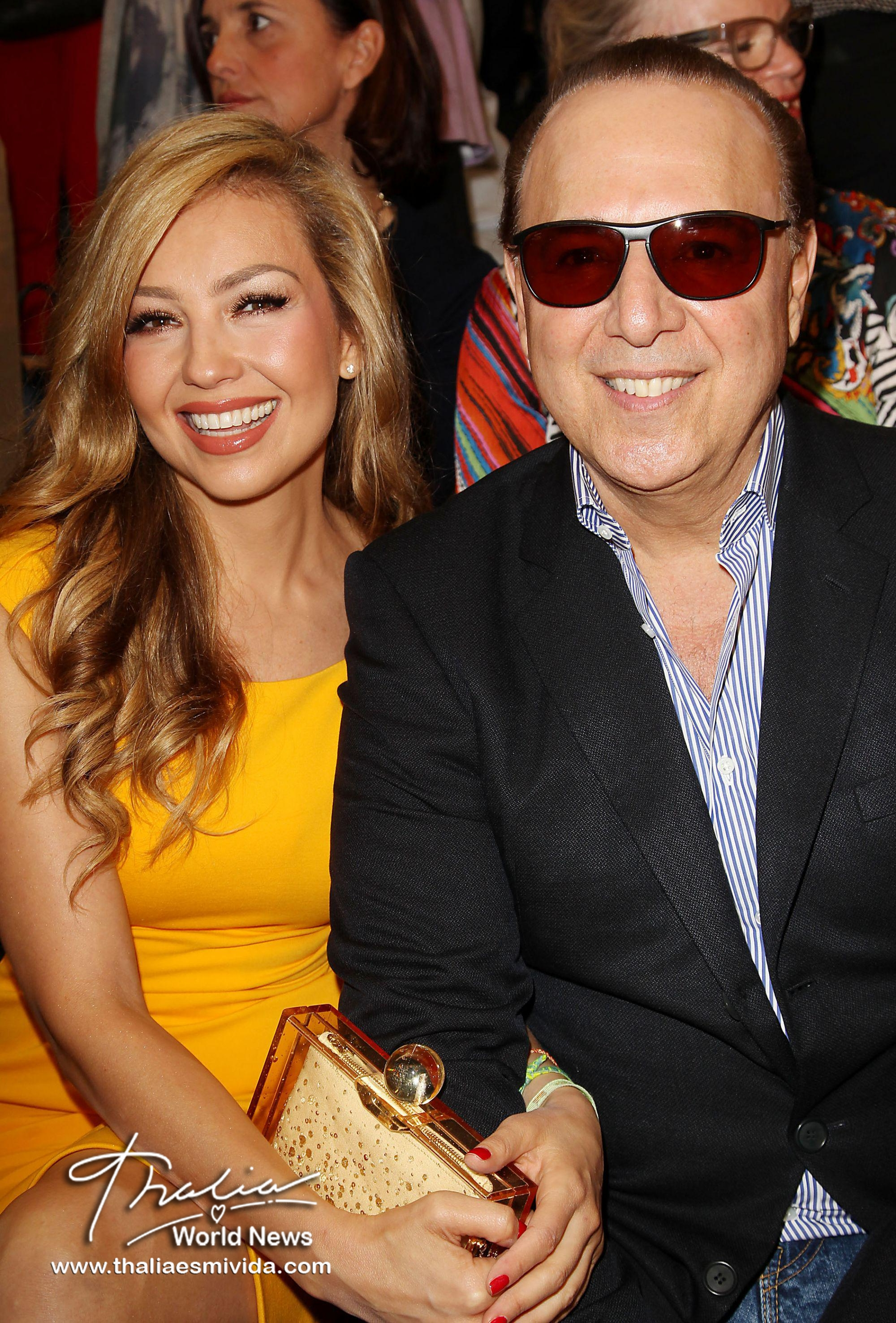 Thalia and Tommy NYFW 2)