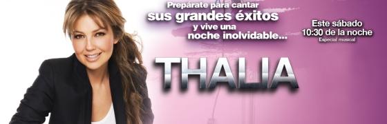 Thalia en concierto