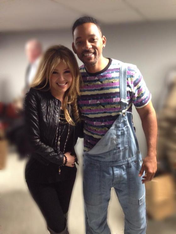 Thalia con Will Smith