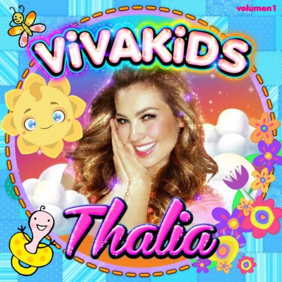 Portada Thalia Viva Kids