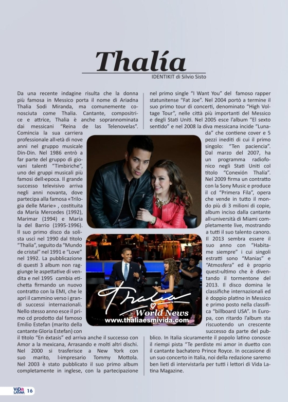Thalia Revista Vida Latina Italia Scan