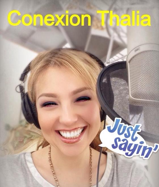 Thalia 7 anos Conexion Radio