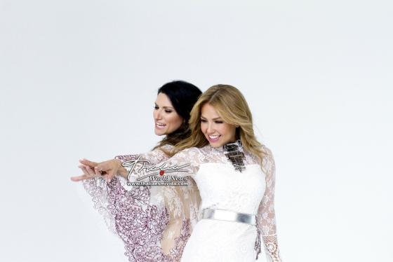 Laura con Thalia