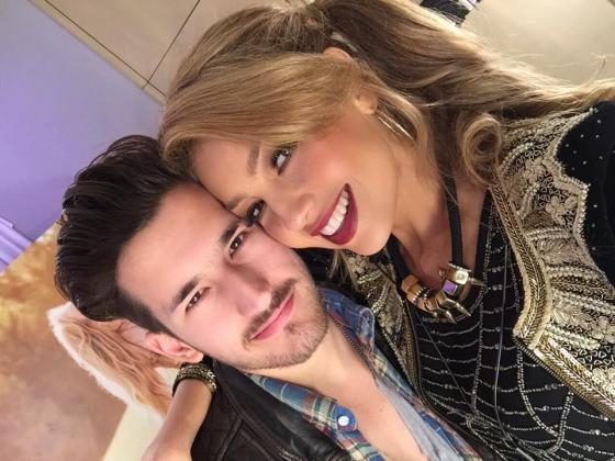 Thalia con Ricky Montaner